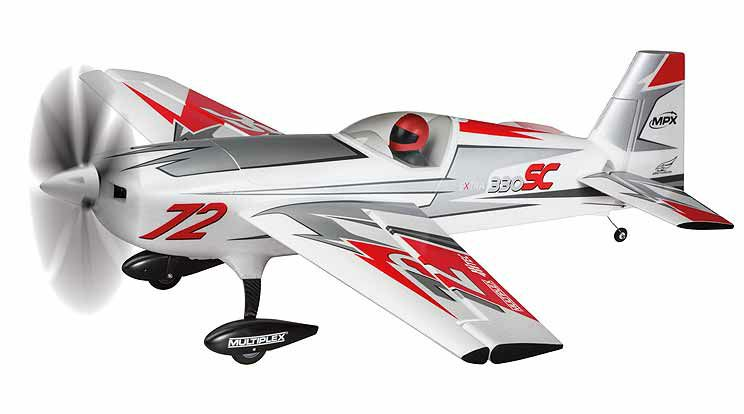 Multiplex Extra 330 SC silver-red