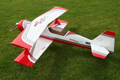 PITTS PYTHON S50-E Weiß/Rot